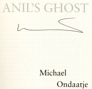 Anil's Ghost - 1st Edition/1st Printing