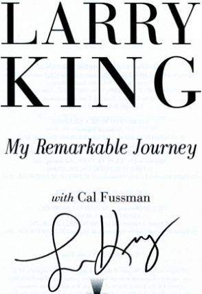 My Remarkable Journey - 1st Edition/1st Printing