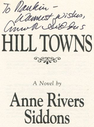 Hill Towns - 1st Edition/1st Printing