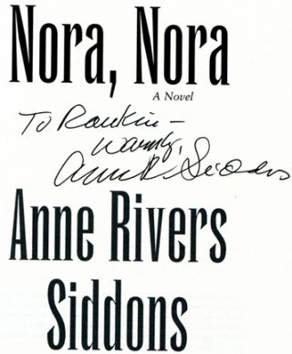 Nora, Nora - 1st Edition/1st Printing