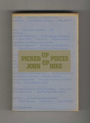Picked-Up Pieces - 1st Limited Edition/1st Printing. John Updike
