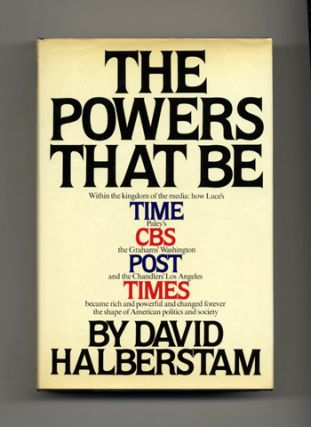 The Powers That Be - 1st Edition/1st Printing
