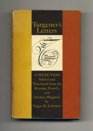 Turgenev's Letters - 1st Edition/1st Printing