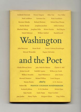 Washington And The Poet - 1st Edition/1st Printing. Francis Coleman Rosenberger