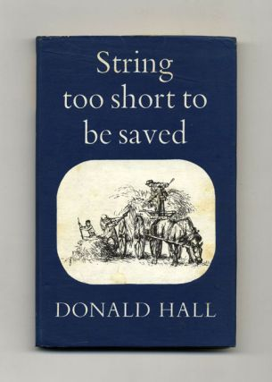 String Too Short To Be Saved - 1st Edition/1st Printing