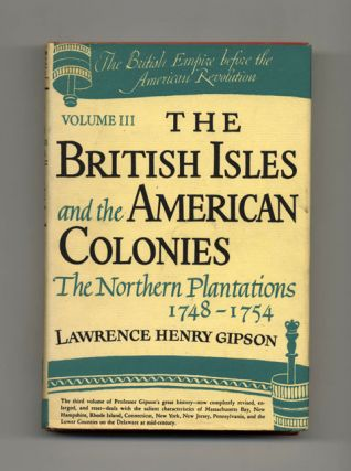The British Isles And The American Colonies, The Northern Plantations, 1748 - 1754
