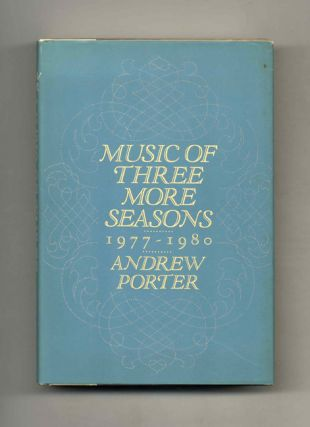 Music Of Three More Seasons, 1977 - 1980 - 1st Edition/1st Printing