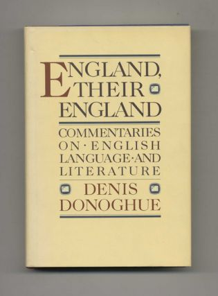 England, Their England: Commentaries on English Language and Literature - 1st Edition/1st Printing