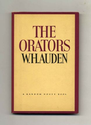 The Orators: An English Study - 1st US Edition/1st Printing