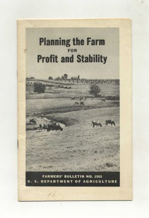 Planning The Farm For Profit And Stability