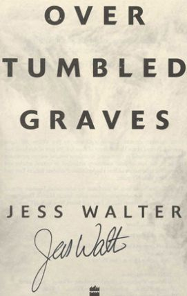 Over Tumbled Graves - 1st Edition/1st Printing