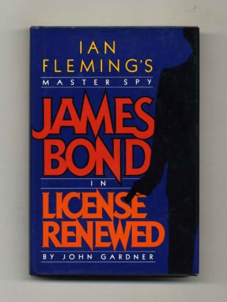 License Renewed - 1st US Edition/1st Printing. John Gardner