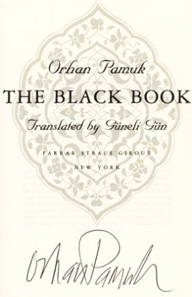 The Black Book - 1st US Edition/1st Printing