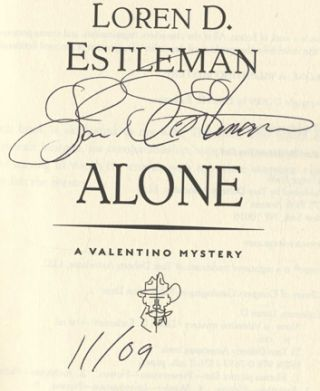 Alone - 1st Edition/1st Printing