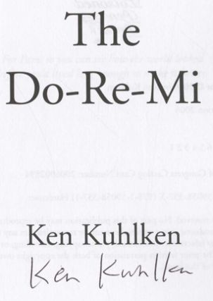 The Do-Re-Mi - 1st Edition/1st Printing