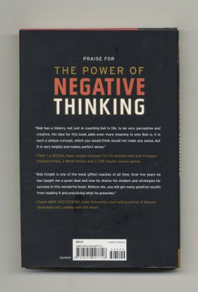 The Power Of Negative Thinking - 1st Edition/1st Printing