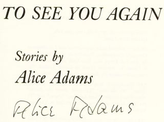 To See You Again - 1st Edition/1st Printing