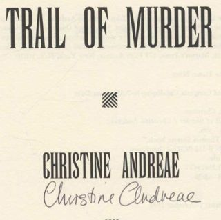 Trail of Murder - 1st Edition/1st Printing