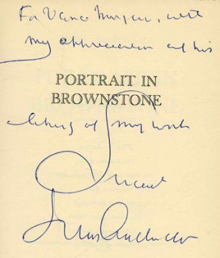 Portrait in Brownstone - 1st Edition/1st Printing