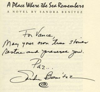 A Place Where the Sea Remembers - 1st Edition/1st Printing