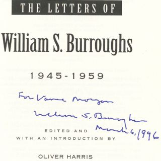 The Letters of William S. Burroughs - 1st Edition/1st Printing