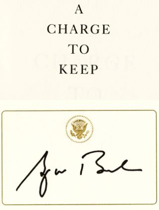 A Charge to Keep - 1st Edition/1st Printing