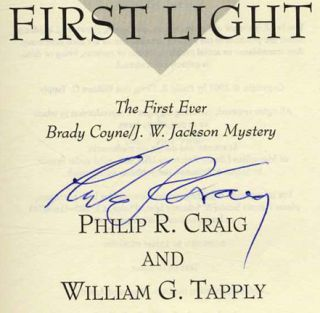 First Light - 1st Edition/1st Printing