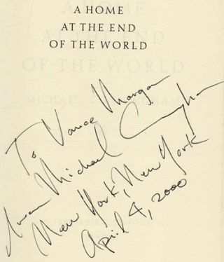 A Home at the End of the World - 1st Edition/1st Printing