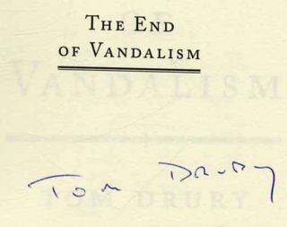 The End of Vandalism - 1st Edition/1st Printing