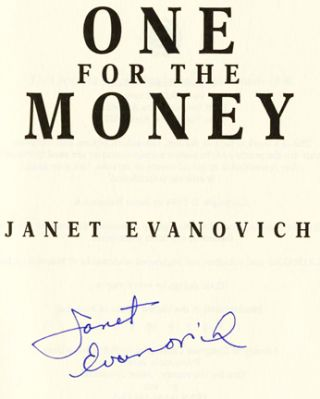 One for the Money - 1st Edition/1st Printing