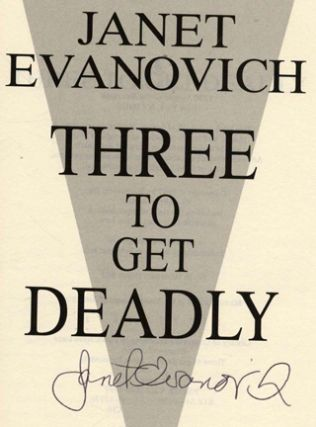 Three To Get Deadly - 1st Edition/1st Printing