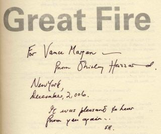 The Great Fire - 1st Edition/1st Printing