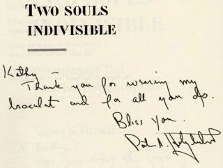 Two Souls Indivisible: The Friendship That Saved Two POWs in Vietnam - 1st Edition/1st Printing