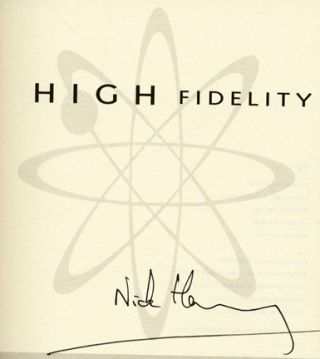 High Fidelity - 1st US Edition/1st Printing