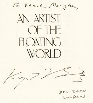 An Artist of the Floating World - 1st US Edition/1st Printing