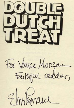 Double Dutch Treat - 1st Edition/1st Printing