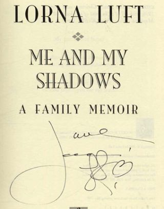 Me and My Shadows - 1st Edition/1st Printing