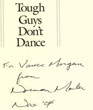 Tough Guys Don't Dance - 1st Edition/1st Printing