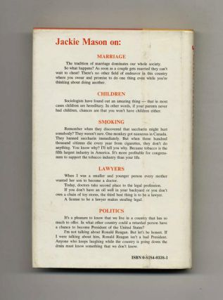 Jackie Mason's America - 1st Edition/1st Printing