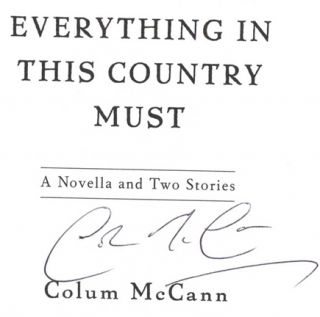 Everything In This Country Must - 1st Edition/1st Printing