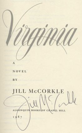 Tending To Virginia - 1st Edition/1st Printing