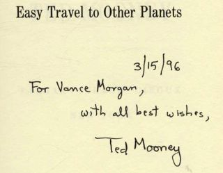 Easy Travel to Other Planets - 1st Edition/1st Printing