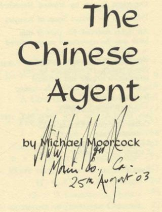 The Chinese Agent - 1st Edition/1st Printing