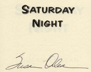 Saturday Night - 1st Edition/1st Printing