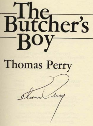 The Butcher's Boy - 1st Edition/1st Printing