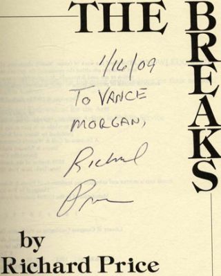 The Breaks - 1st Edition/1st Printing