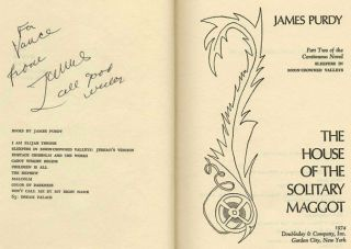 The House of the Solitary Maggot - 1st Edition/1st Printing