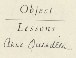 Object Lessons - 1st Edition/1st Printing