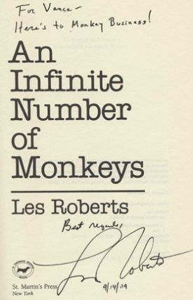 An Infinite Number of Monkeys - 1st Edition/1st Printing