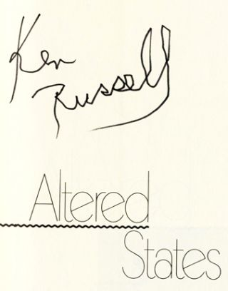 Altered States - 1st US Edition/1st Printing
